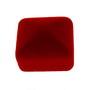 Cutie cadou bijuterii catifea rosie pentru inel