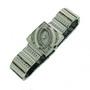 Ceas quartz de dama GenCrown cu bratara metalica cu elemente decorative si carcasa dreptunghiulara cu zirconiu