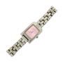 Ceas quartz ACTIVA de dama cu bratara metalica cu cadran dreptunghiular roz