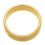 Inel verigheta placat cu aur in doua culori